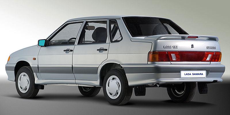 новая Lada Samara 2115