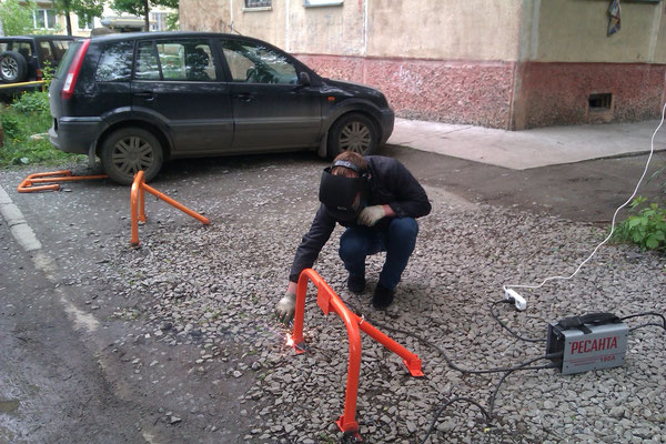 Для чего создано парковочное ограждение?