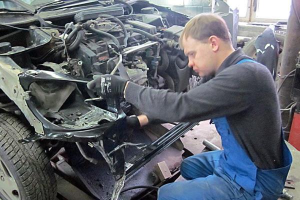 Как проходит ремонт авто после дтп?