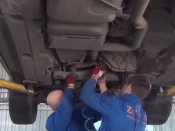 Как удалить сажевой фильтр на немецких автомобилях?