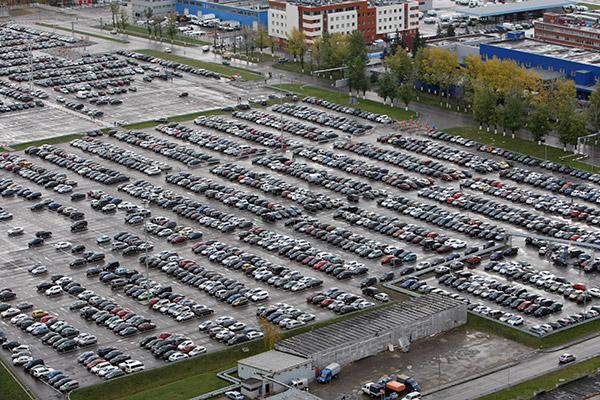 Cпециальные парковки в аэропортах