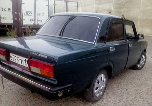ВАЗ 2107, цвет мурена